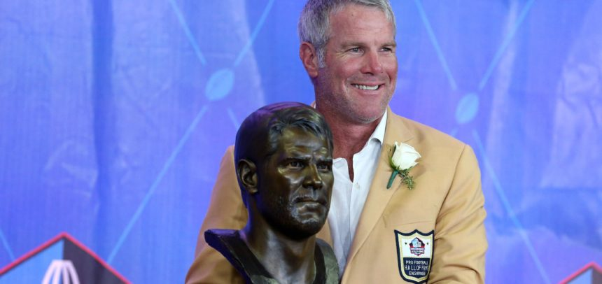Brett Favre Hall of Fame Speech