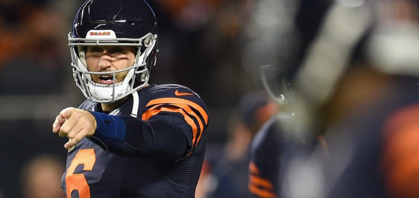 Jay Cutler is 46-8 when he gets help from his defense